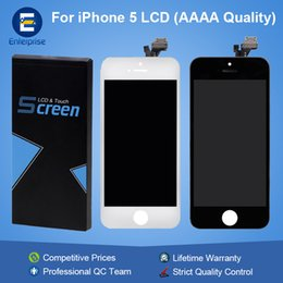 Wholesale Lcd Screen Glass Iphone5 - AAAA High Quality For iphone5 iphone 5G 5C 5S SE Repair Part Full Front Glass LCD Display Digitizer Touch Panel Screen Assembly With Frame