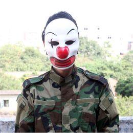 Máscara protectora completa de paintball online-2017 Nueva Venta Caliente Paintball Cráneo Máscaras CS Battlefield Airsoft Tactical Wargame Cosplay Cara Completa Máscaras de Payaso de Miedo de Protección Envío Gratis