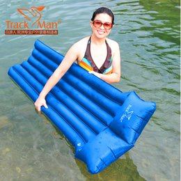 Wholesale Breaks Pads - Wholesale- 2015 BBQ inflatable cushion water swimming mat break unch park picnic hiking fishing sandbeach outdoor camping mat pad