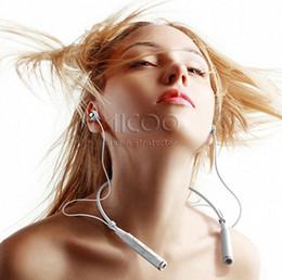 2019 micrófono mágico al por mayor Remax RB S6 Deportes Banda para el cuello Auriculares Bluetooth Estéreo inalámbrico Auriculares Música Auriculares Bluetooth V4.1 HD Mic Conexiones múltiples
