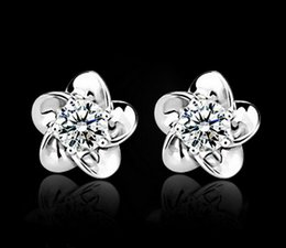 2019 couleurs de peinture en aérosol Zircon immortalisé fleurs du soleil boucles d'oreilles sauvages simples ZC boucles d'oreilles diamant gros livraison gratuite