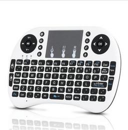 rii i8 bluetooth Rabatt Deutsche Version Mini Rii i8 Drahtlose Tastatur Fernbedienung Touchpad-Tastatur Touchpad-Maus Hintergrundbeleuchtung Combo für TV-Box Tablet Mini-PC PS3