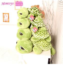 Wholesale Stuffed Tortoise - Wholesale- 60cm 23.6'' Giant Plush Toys Tortoise Stuffed Animal Turtle Doll Stitch Soft Brinquedos Plusheen Gift #SA15