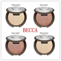 Wholesale Champagne Wholesale Prices - New Presell Becca Shimmering Skin Perfector Pressed - Moonstone Pearl Opal Rose Gold Champagne Pop Discount Price DHL free