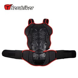 Wholesale Ear Dryer - HEROBIKER 2017 Motorcycle Racing Jackets Backpiece Back Protective ear Support Motocross Off-Road Racing Wear Back Protector