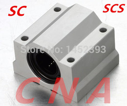 Wholesale Linear Guide Rails - Wholesale- Free Shipping 4pcs SC10UU SCS10UU Linear motion ball bearings slide block bushing for 10mm linear shaft guide rail CNC parts