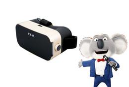 Wholesale Virtual Video Goggles Glasses - Vrbox Casque VR Box Headset Video 3 D 3D Virtual Reality Glasses Goggles Smartphone Helmet Smart Lens Google Cardboard Cardbord