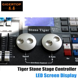Wholesale Display Controller Board - Flight case packing Stone Tiger DMX Controller with LCD Display Board Professional Stage Light DJ Controller 2048 PRO 90V-240V Peal Tiger