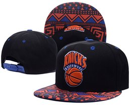 Wholesale Basketball Snapback Hats New York - HOt! Fashon New york Adjustable knicks Snapback Hat Thousands Snap Back Hat For Men Basketball Cap Cheap Hat Baseball Cap
