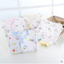 Wholesale Baby Clothes Gift Sets - 2017 he newborn baby clothes cotton summer gift set 0-3 month full moon baby newborn baby products
