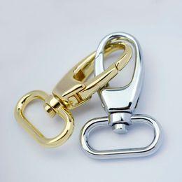 Wholesale Keyring Swivel Clasp - 10pcs Lobster Clasp Swivel Snap Hooks For Bag Keyring Key Holder Diy Keychain Accessories Bag Clip 27mm 1 inch dog buckle