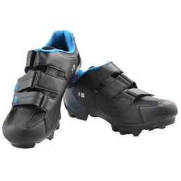 Wholesale Fabric Process - Hot genuine process comfortable and breathable black shoes F-55Mountain bike Shoes MTB shoes