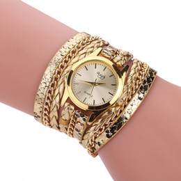 Wholesale Cheapest Casual Watch - Special offer wholesale watches ladies casual woven bracelet watch winding snake pattern at the cheapest price limit for 12 days