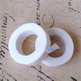 Wholesale Extension Tapes - Wholesale Charming Lashes Professional Eyelash Lash Extension Micropore Paper Tape Under Eyelash Tape Free Shipping