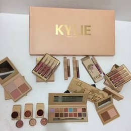 Wholesale Color Bug Set - Kylie Makeup Set Vacation Edition Collection Lip Kit Take Me on Vacation Send Me More Nude Ultra Glow The Wet Set Lipgloss June Bug DHL