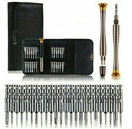 Wholesale Kit Screwdrivers Pc Phone - Precision Screwdriver Set 25 In 1 Torx watch Screwdriver Repair Tool Set for Phone 4s 5s iPad Pc Hand Tool Kit hardware Tool