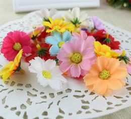 Wholesale Green Chrysanthemums - Multi Color Jump chrysanthemum Diy Flower Silk Flowers Artificial Flowers Heads For Home Wedding Decoration Flower Head G171