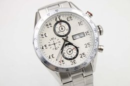 Wholesale Mens Amethyst - Mens supplier AAA luxury White Automatic Mechanical Date Week Watch CALIBRE 16 CAL 1887 43MM CAR2A10.BA0799_2 Dress Wristwatches Men