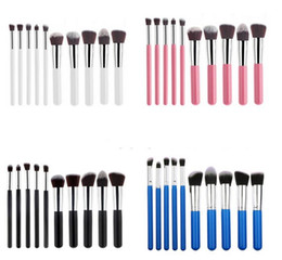 Wholesale Makeup Kit Products - Trending Hot Products 10pcs Makeup Brush Set with Foundation Powder Blush Kit Concealer and Cosmetic Tools