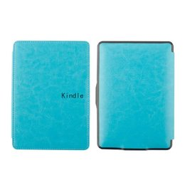 Wholesale Advance Accessories - color Advanced Leather Book cover for Kindle Paperwhite1 2 3 2015 2014 2013 2012 sleeve cover Case pouch cover for KPW