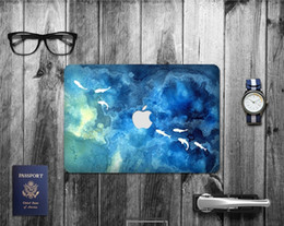Wholesale Macbook Pro Skin Case - Wholesale 5 Sets Laptop PC Case Skin Decal Protectors Multi Styles Stickers for Macbook air pro retina