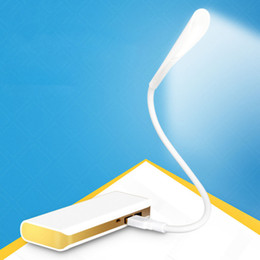 Wholesale Mini Light Sockets - Wholesale- Mini LED Night Light USB Portable Lamp for Laptop Mobile Power Supply Socket