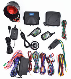 Wholesale Car Button Sensor - CarBest 2 Way LCD Sensor Remote Engine Start System Kit Automatic | One Button Engine Start System | Car Burglar Alarm System CA-990