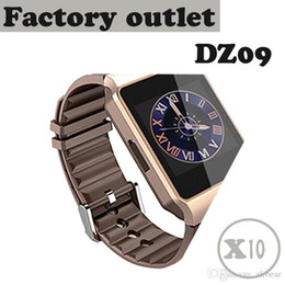 Wholesale Hot Russian - Hot DZ09 Smart Watch Factory Outlet : 10 pcs 1.56 inch Smart Watch DZ09 Support SIM Card & TF card For Android & IOS cellphone