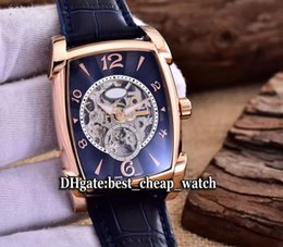 Wholesale Minute Watches - Super Clone Grand Complication Kalpa XL Minute Repeater PF602059.01 Automatic Skeleton Tourbillon Mens Watch Black Dial Rose Gold Watches