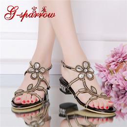 78d9b45c96 2016 nueva moda cómodos zapatos de vestir para mujer en venta plana negro  cuero casual sandalias mujeres diamante RMS