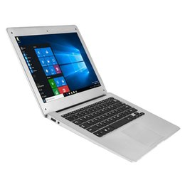 Wholesale Notebook Inch Windows - Jumper EZbook 2 A14 Laptop 14.1 Inch Windows 10 notebook computer 1920x1080 FHD Intel Cherry Trail Z8300 4GB 64GB ultrabook DHL shipping