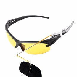 Wholesale Mountain Bike Riding Glasses - Wholesale- New Arrival Polarized Bike Bicycle MTB Cycling Riding Sunglasses Goggles Mountain Bike Glasses Rearview Glasses Discount