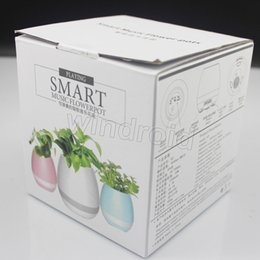Wholesale Led Lights Flowers Cheap - Cheap Smart Music Flower pot Creative Music Vase Wireless Bluetooth Speaker K3 Intelligent Plant Piano Music with Colorful LED Night Light