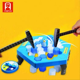 Wholesale Penguin For Sale - Hot sale toys for early childhood education break ice save penguin funny train children to be patient