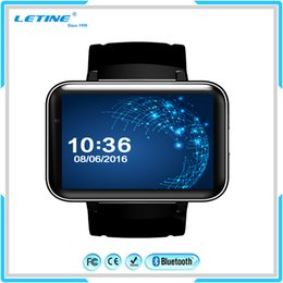 Wholesale Luxury Dual Sim - Luxury Wifi 4G 3G Smart Watch Android dual sim card MT6572A GPS google map Dual core DM98 KW88 Smartwatch Mobile