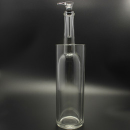 Wholesale Gravity Water - All-Glass Construction Gravitron Gravity Bongs Come with Glass Slide Bowl 13 inch Glass Water Pipe No smoke is lost