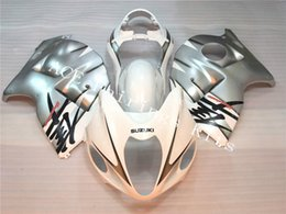 Wholesale Injection Mold For Hayabusa - New Injection ABS bike Fairing Kits 100% Fit For Suzuki GSXR1300 Hayabusa 96 97 98 99 01 02 03 04 05 06 07 Free fuel tank 18 big collection
