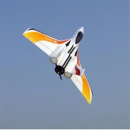 Wholesale Electric Airplane Kit - Wholesale- New Arrival Zeta Ultra-Z Blaze 790mm Wingspan EPO Flying Wing Pusher Jet Racer RC Airplane KIT