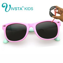 Wholesale Mixed Girl Babies - IVSTA Kids Sunglasses Girls Glasses Frame Children Sunglasses Baby for Child Summer 2017 Polarized UV400 Kids Sunglasses Boys