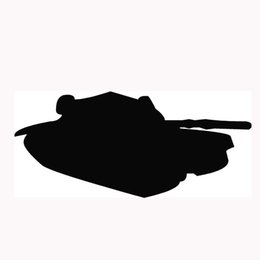 Wholesale Tank Stickers Car - Wholesale 10pcs lot King Land Warfare MBT Tank Styling Car Stickers for Truck Window Bumper SUV Door Laptop Automotive Exterior Vinyl Decal
