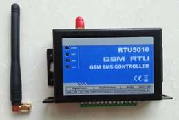 Wholesale Sms Pump - Wholesale- RTU5010 GSM SMS Remote control monitoring alarm controller for Vending Machines Pumping Stations Oil and gas pipelines