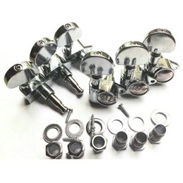 Wholesale Grover Tuning - Factory Direct 6 Pieces Grover Closed Folk Guitar Tuning Pegs Keys Machine Head Tuners Guitar Parts Accessories