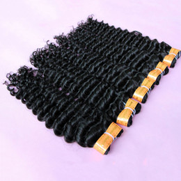 Wholesale Dip 28 - Extra-Thick 8A Indian Virgin Hair Weaves Unprocessed human Hair Extensions weft Deep Wave Can dip dye Ombre hair