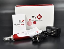 Wholesale Micro Dermal Roller - Derma Stamp Roller Pen and 50pcs 12 Needle Cartridges MYM Derma Pen Roller, Micro Needle Roller, Dermal Roller,Beauty Equipment