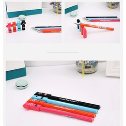 Wholesale Wholesale Korean Stationary - Korean creative funny Monster pens for writing gel pens office writing pens signing stationary