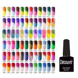 color superior gelish Rebajas 2017 de Alta Calidad de Cambio de Color por Temperatura Gelish Nail Polish 8ml Nail Beauty 132 Colores de Larga Duración Gel de Uñas ZA2836