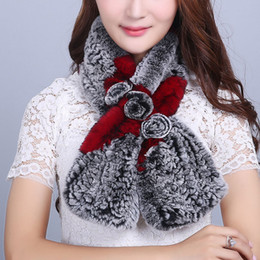Wholesale Mink Scarfs - Wholesale- Scarf Women's scarves Real fur Scarf Real mink fur Scarf All the goods in our shop are genuine leather