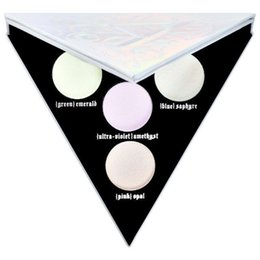 Wholesale Eyeshadow Mixed - Make up quality Hot Alchemist Holographic eyeshadow palette 4 colors highlighter makeup palette High Quality Hot Brand Free Shipping
