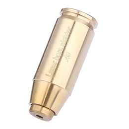 Wholesale Laser Light Rifle - Tactical Precision Red Dot Laser CAL.40 Rifle Scope Boresighter Bore Sighter Cartridge Brass Hunting for Hunting +B