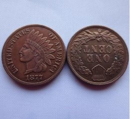 Wholesale Cheap Quality Gifts - Date 1877 Indian Head Cent copy coins - High Quality Free Shipping Promotion Cheap Factory Price nice home Accessories Coin